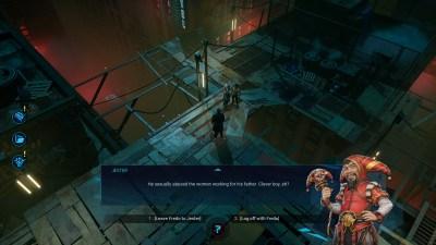 Spillet har varierte miljøer.