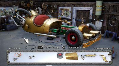 Bilen må bygges før den kan kjøres.