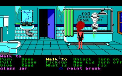 Det er helt normalt med en mumie i badekaret.