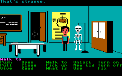 Da spillet først kom til PC, var det med nesten lik grafikk som på Commodore 64.