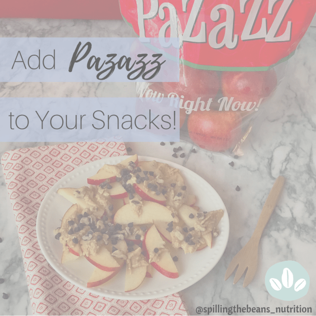 Add Pazazz to your Snacks!