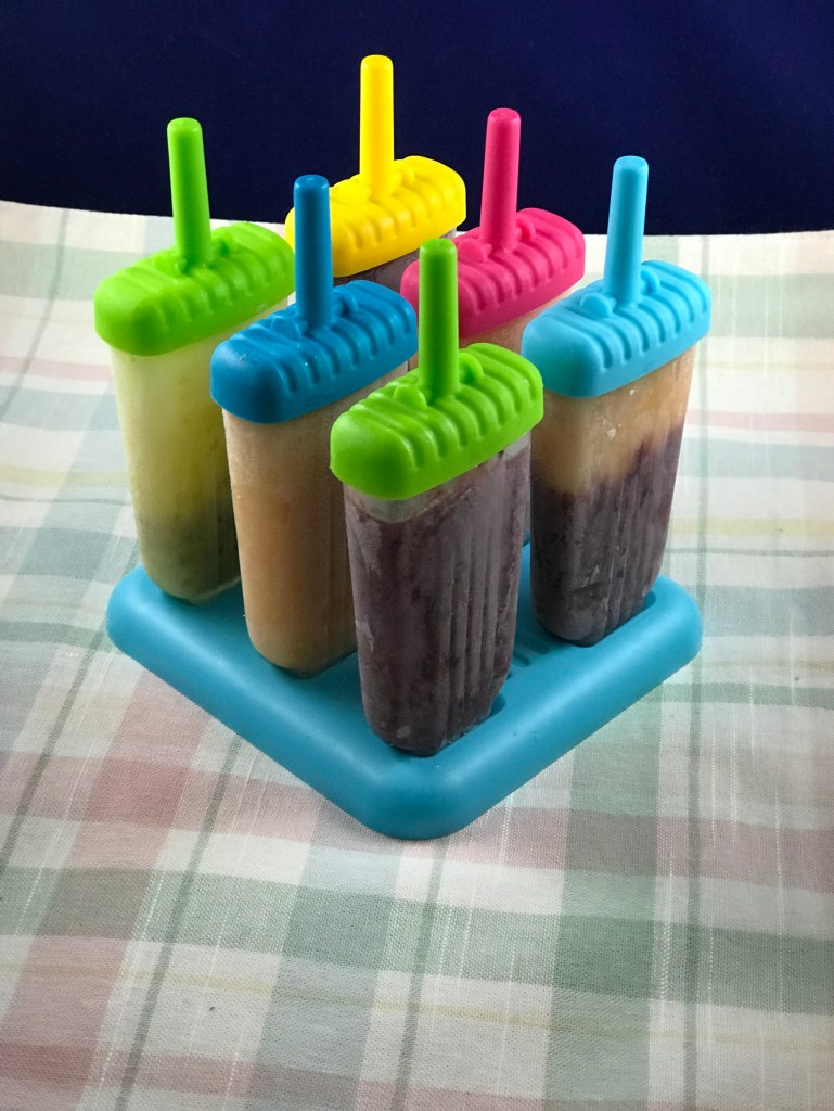 homemade popsicles stand