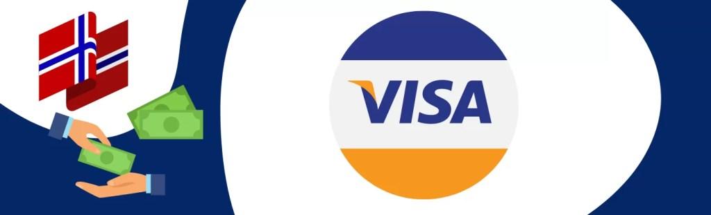 Transaksjoner ved bruk av Visa