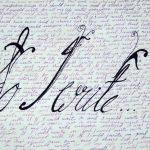 So I Write