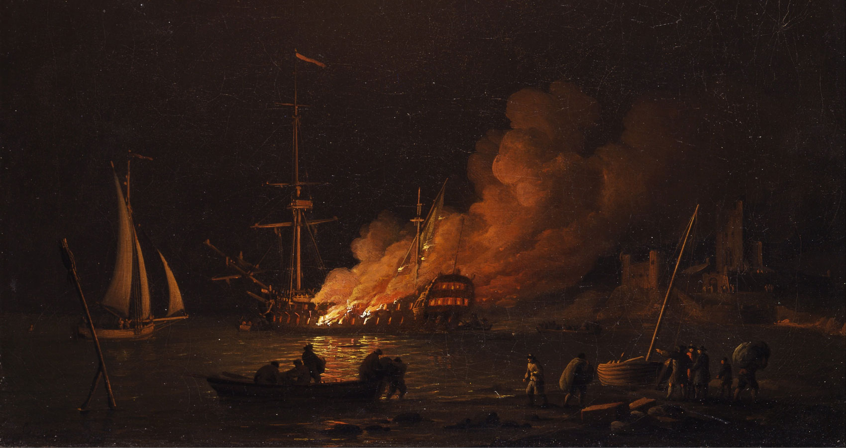 A Sailor Recounts The Sinking Of A Ship A Poem At