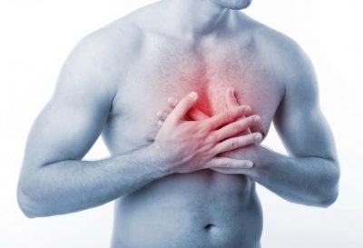 Почему воспалился мечевидный отросток грудины