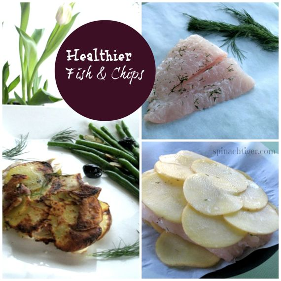 Healthier Fish & Chips by Angela Roberts