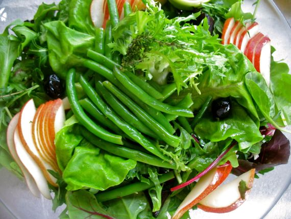 Green Bean Salad and Holiday Side Dishes from Spinach Tiger