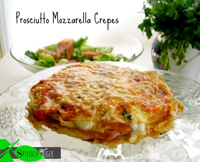 Proscuitto Mozzarella Crepes by angela roberts