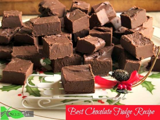 Christmas Chocolate Fudge by Angela Roberts