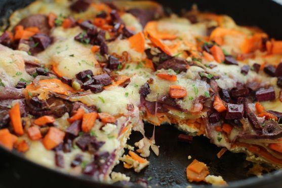 Roasted Sweet Potato Lasagna