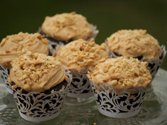 Salty Caramel Chocolate Cupcakes