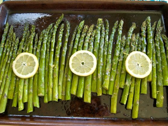 Roasted Asparagus and Holiday Side Dishes from Spinach Tiger