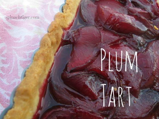 Plum Tart by Angela Roberts