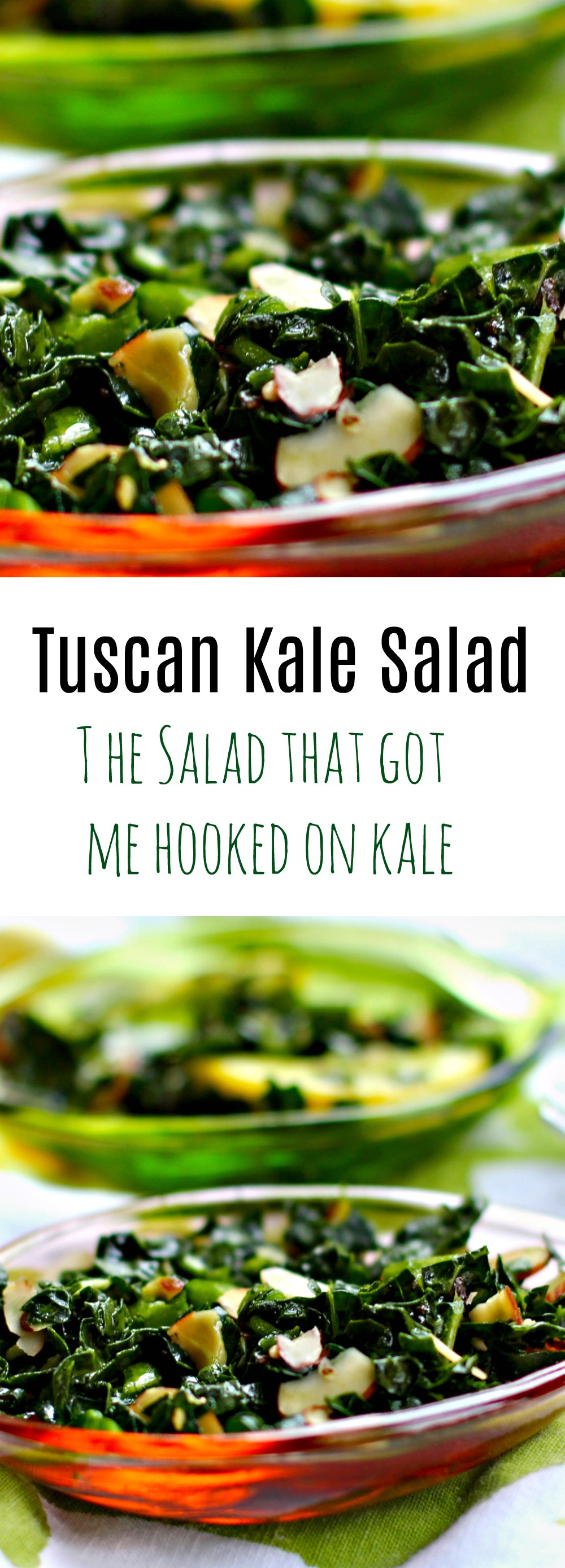 Chopped Kale Salad Tuscan Style from Spinach TIger