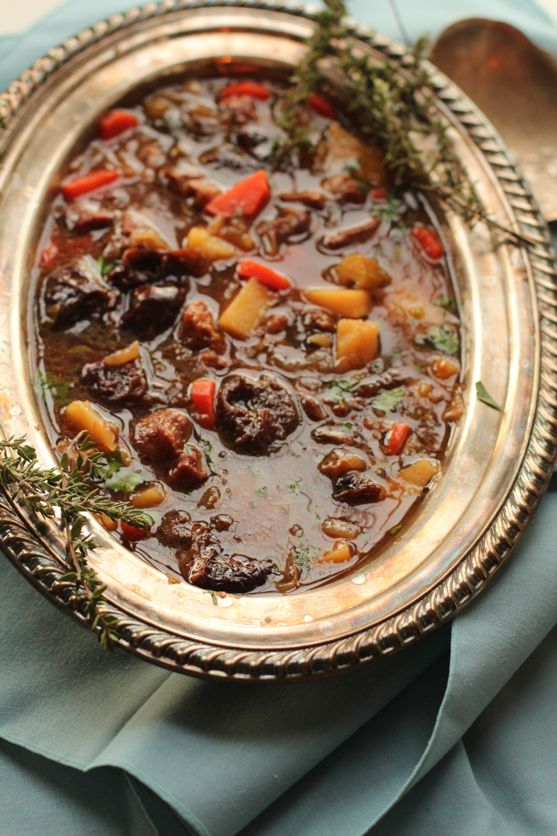 Hunger Games Lamb Stew with Dried Plums