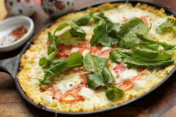Low Carb Cauliflower Recipes: Cauliflower Pizza Crust