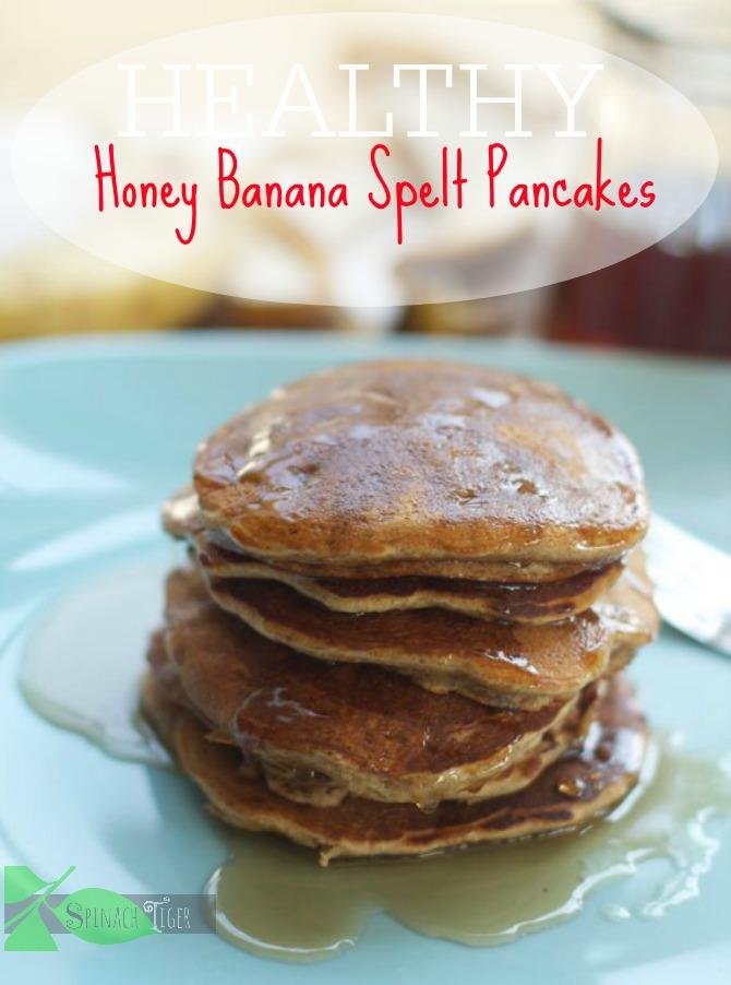 Healthy Honey Spelt Pancaks by angela roberts