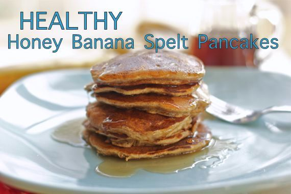 Fat Free Healthy Spelt Pancakes