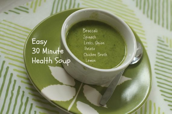 Thirty Minute Health Soup by ANgela Roberts
