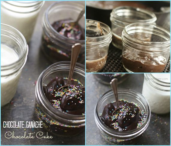 Chocolate Cake in a Jar by Angela Roberts