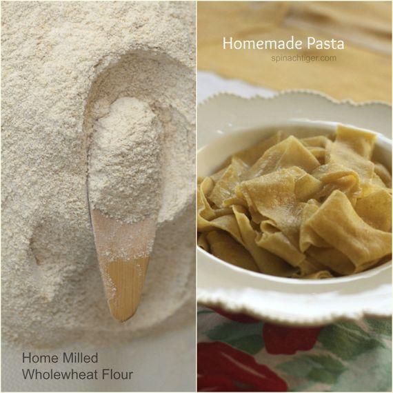 Handmade WHole Wheat Pasta by Angela Roberts