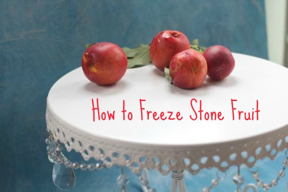 how to freeze stone fruit by Spinach Tiger