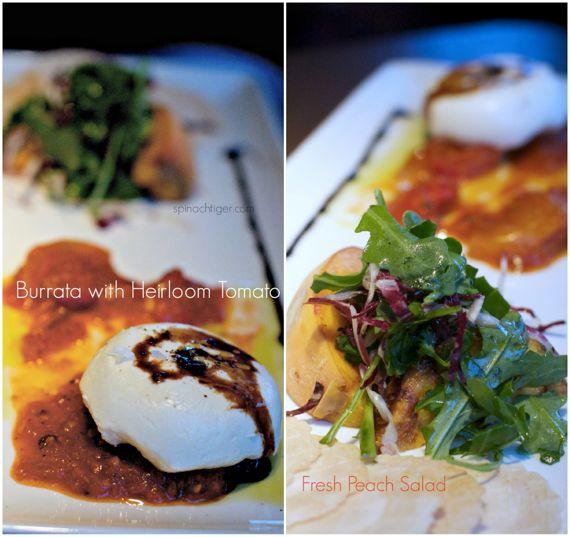 Burrata Salad at Root Down in Denver by Angela Roberts