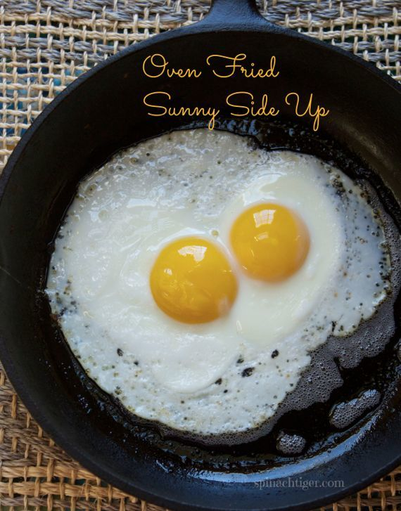 Oven Fried Eggs