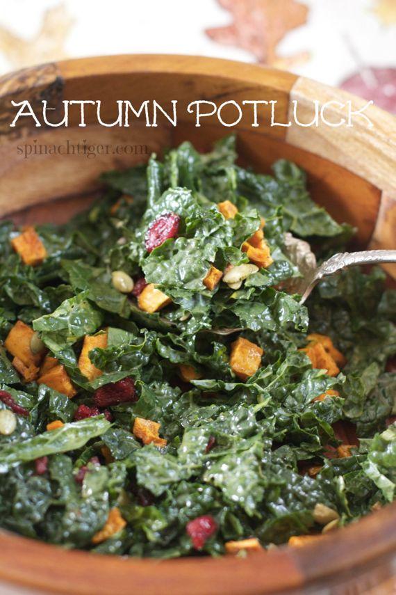 Potluck Kale Salad via @angelaroberts