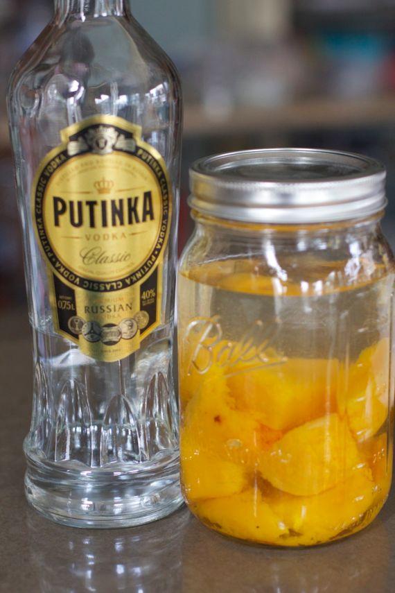 Butternut Squash Infused Vodka