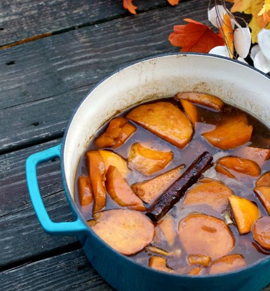 Southern Candied Sweet Potatoes from Retro Rose by Angela Roberts