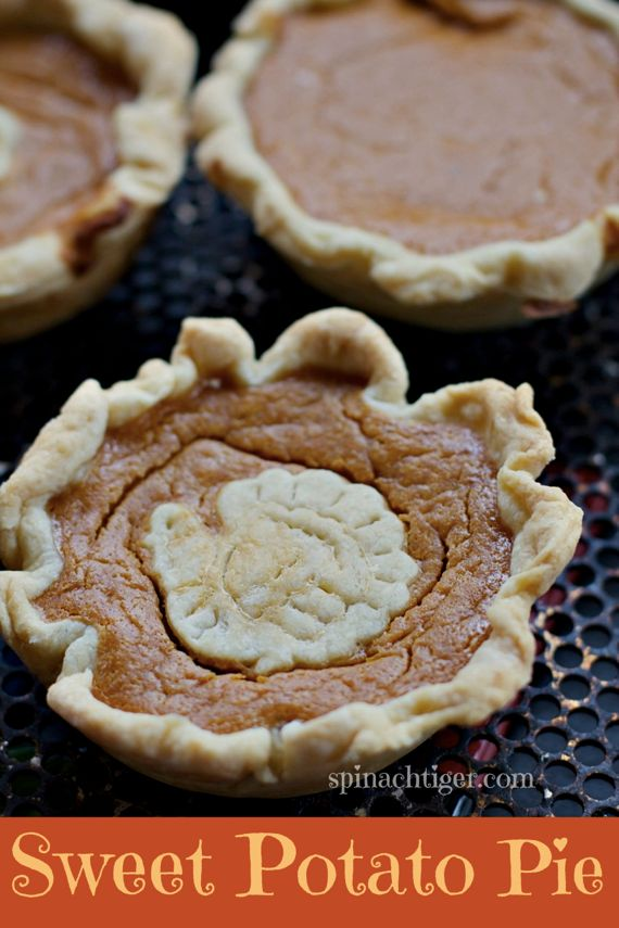 Homemade Southern Sweet Potato Pie Made with Candied Sweet Potatoes by Angela Roberts