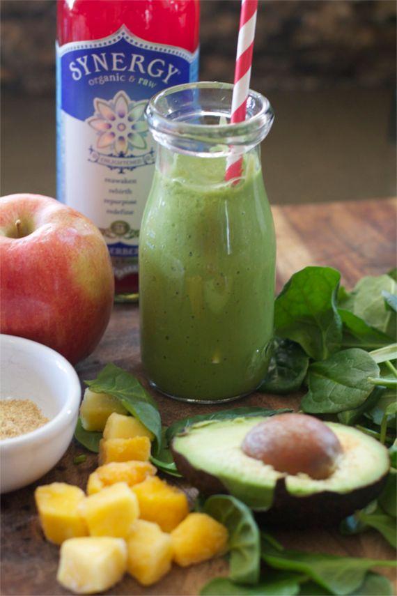 kombucha green smoothie