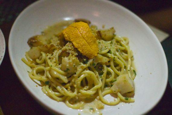 Spaghetti Scallop at Moto