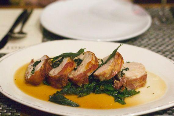 Chicken Saltimboca at Moto Cucina Enoteca by Angela Roberts