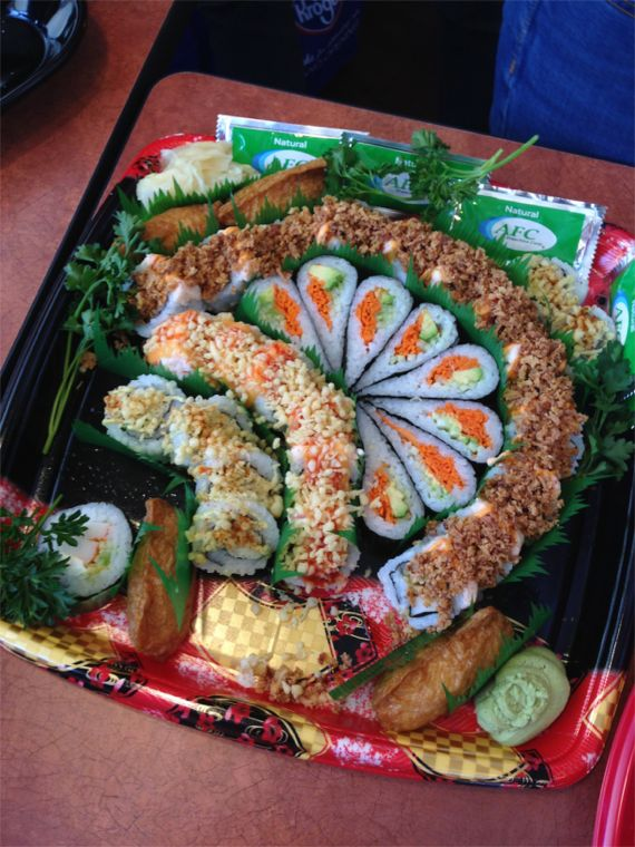 Sushi at Kroger Marketplace by Angeal Roberts
