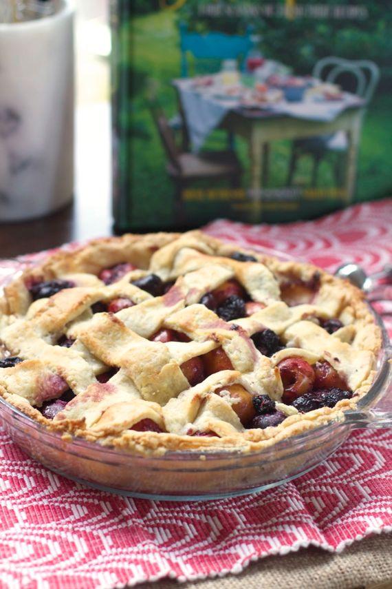 Cherry Pie with Lattice Top by Angela Roberts
