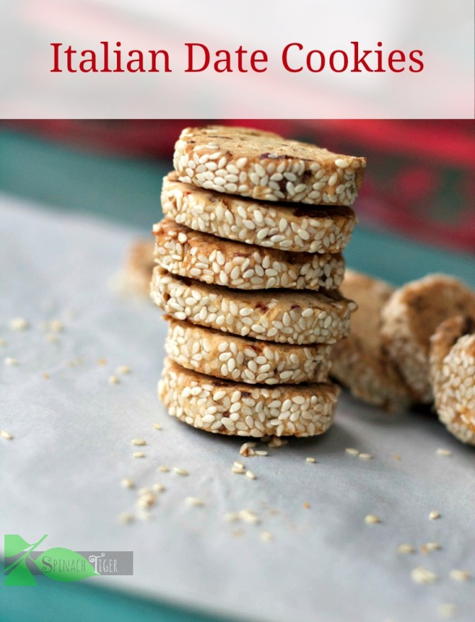 Italian Date cookies by Angela Roberts