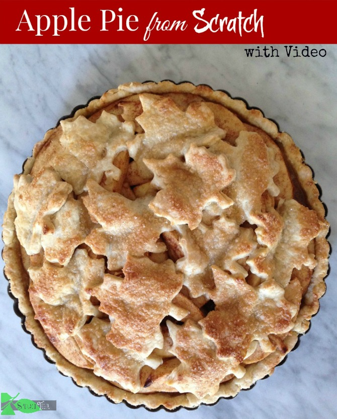 Apple Pie from Scratch with Video by angela roberts