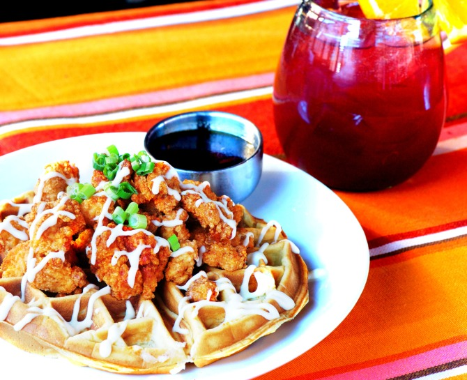 St. Anejo Chicken & Waffles by angela roberts