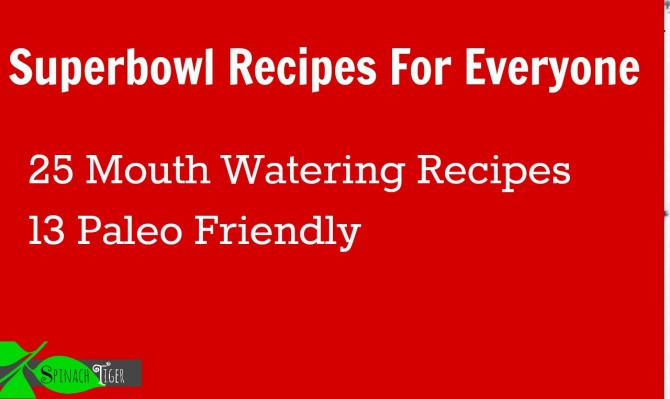 Superbowl Recipes by Angela Roberts