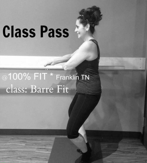 Nashville Class Pass Barre Class