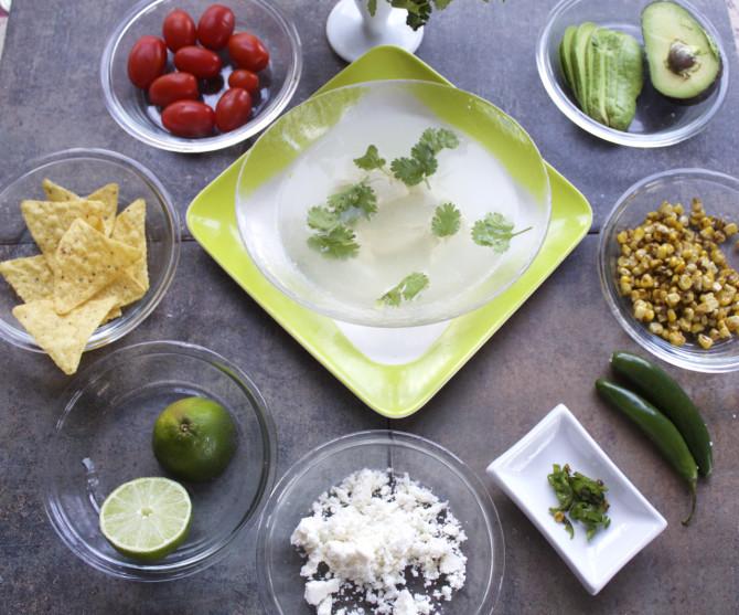 Mas tacos Spicy Tortilla Soup by Angela Roberts