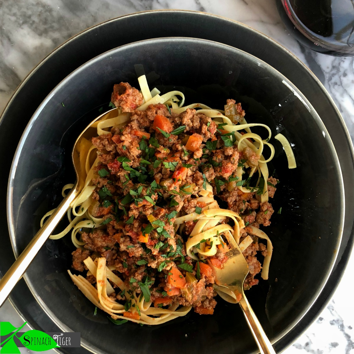 How to Make Marcella Hazan's Bolognese Sauce from Spinach Tiger