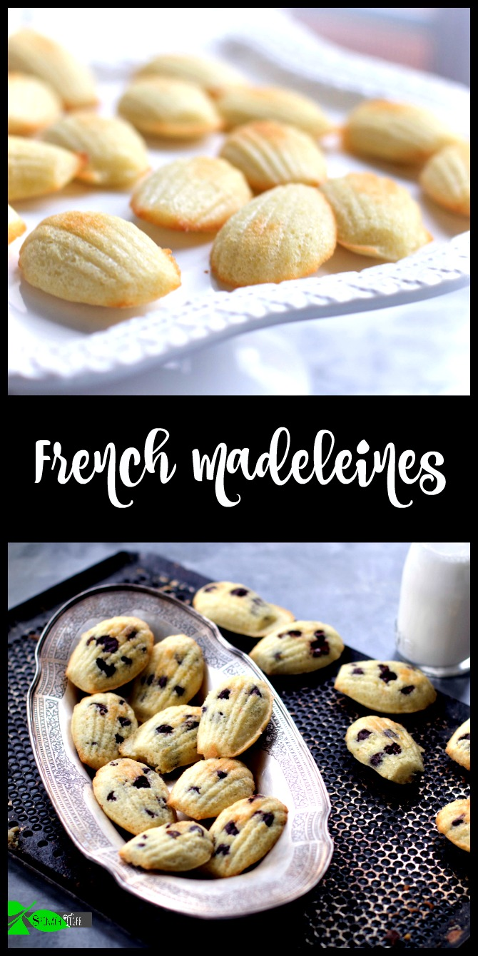 Madeleines Recipe from Spinach Tiger