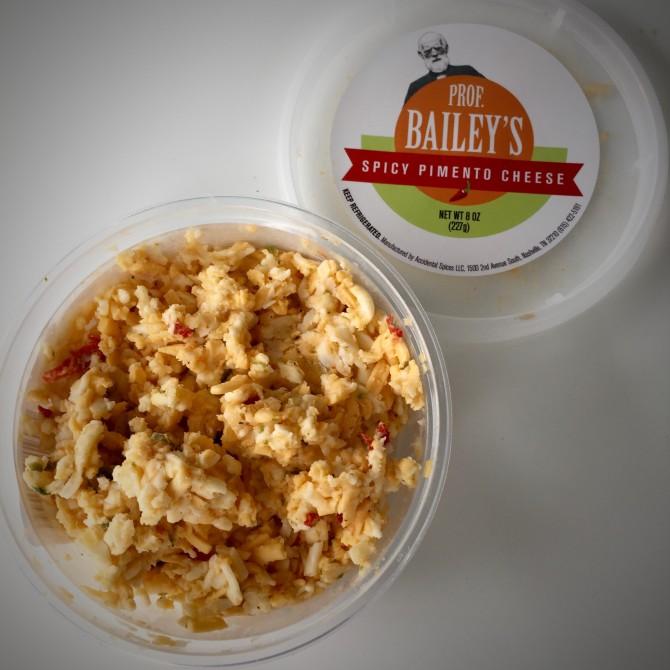 Professor Bailey's Pimento cheese