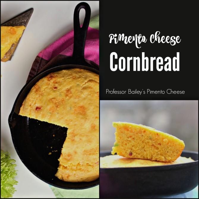 Professor Baileys Pimento Cheese Cornbread
