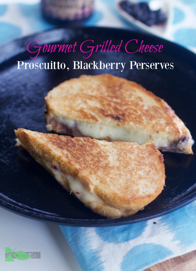How to Cook Grilled Cheese from Spinach Tiger