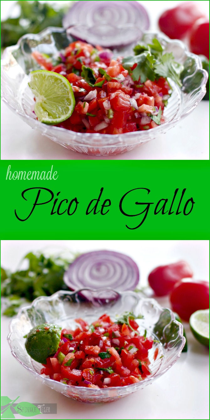 Pico de Gallo: Easy Healthy Recipes from Spinach Tiger